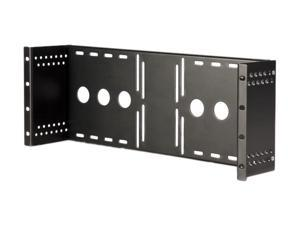 StarTech RKLCDBK Universal VESA LCD Monitor Mounting Bracket for 19in Rack or Cabinet