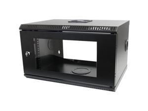 StarTech RK619WALL 6U 19in Wall Mount Server Rack Cabinet w/ Acrylic Door