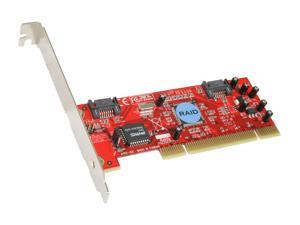 Rosewill RC-201 PCI SATA Silicon Image, RAID 0/1, Normal and Low Profile Host Controller Card