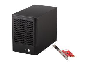 "Rosewill RSV-S5 SATA 3G 2.5"" & 3.5"" HDD 5-Bay RAID 0/1/5/10/5+spare/Spanning/JBOD Storage Enclosure System with 120mm cooling ..."
