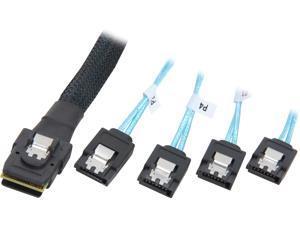 Rosewill RASA-13004 - 3.3-Foot (1 Meter) Multi-Lane Internal (SFF-8087) Serial ATA Breakout Cable