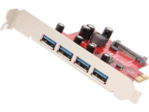 Rosewill RC-229U4 - PCI-Express 2.0 x1 Controller Card with Four USB 3.0 Ports