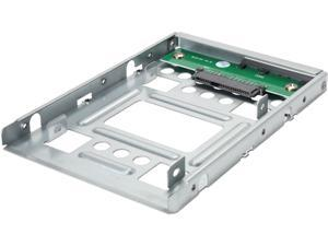 "Rosewill 2.5"" SSD to 3.5"" SATA Hard Disk Drive HDD Adapter Caddy Tray Cage Hot Swap Plug Converter Bracket Compatible with All 3.5"" SAS/SATA Drives , Hot-Swap Caddie Tray Cage (RSA-HA001)"