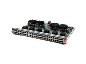 Cisco WS-X4548GBRJ45V-RF Catalyst 4500 PoE IEEE 802.3af 10/100/1000, 48 Ports (RJ-45)