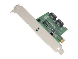 SIIG SC-SAER12-S2 PCI Express x1 SATA II (3.0Gb/s) Two-port Controller Card