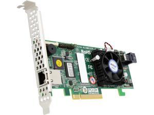 Areca ARC-1216-4i-MS  4-port PCIe 3.0 internal 12Gbps SAS RAID Adapter