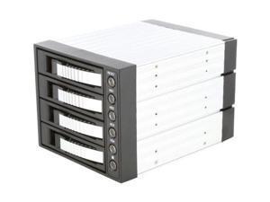 "iStarUSA BPU-340SATA-SILVER 3x5.25"" to 4x3.5"" SAS/SATA 6.0 Gb/s Hot-Swap Cage - OEM"