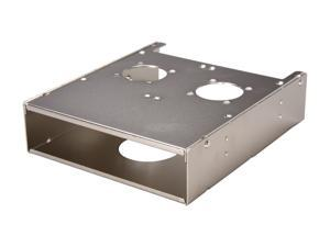 "iStarUSA RP-2HDD2535 5.25"" Drive Bay Cage for 3.5"" and 2.5"" Hard Drives"