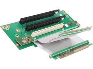 iStarUSA DD-643661 2 PCIe x16 and 1 PCI Riser Card