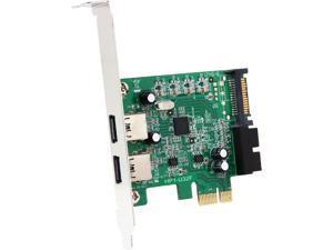 Mediasonic HP1-U32F PCI Express USB 3.0 PCI Express Card