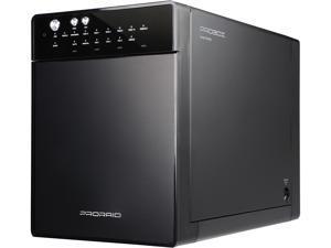 "Mediasonic HFR7-SU3S2 4 3.5"" Drive Bays e-SATA, USB 3.0 PRORAID 4 Bay 3.5' SATA Hard Drive Enclosure - USB 3.0 & eSATA"