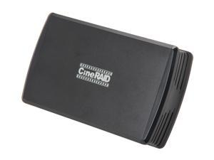 CineRAID CR-H212 RAID 0/1/JBOD/Normal USB 3.0 USB 3.0 Bus Powered Dual Drive RAID/JBOD Portable Enclosure (Disk-less)