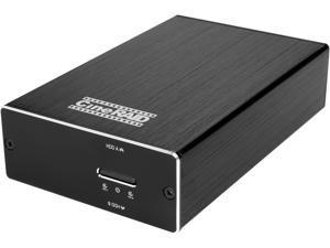 "CineRAID CR-H218 RAID 0 / 1 / JBOD / Normal USB 3.1 Gen2 (10Gbps) type C dual 2.5"" BAY silent hand held RAID Enclosure"