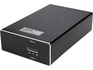 """CineRAID CR-H218 RAID 0 / 1 / JBOD / Normal USB 3.1 Gen2 (10Gbps) type C dual 2.5"""" BAY silent hand held RAID Enclosure with two 240GB SSDs (combined up to 480GB)."""