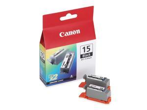 Canon BCI-15 Black Ink Cartridges (8190A003), 2-Pack