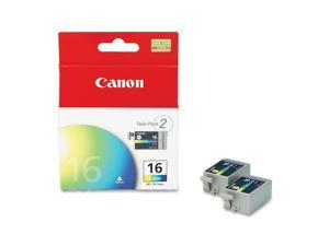Canon BCI-16  twin pack Ink tank, cartridge 16&#59; Color (9818A003)