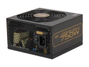 SPARKLE R-SPI750ACAG 750W ATX12V 2.3 SLI CrossFire 80 PLUS GOLD Certified Active PFC Power Supply