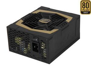 FSP Group AURUM PRO 1200W (AU-1200PRO) ATX12V2.92 SLI Certified 80 PLUS GOLD Certified Single 12V Rail Modular Power Supply ...
