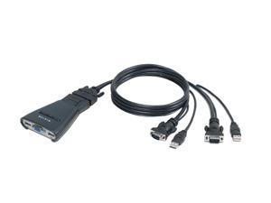 BELKIN F1DK102U Compact KVM Switch with Cables