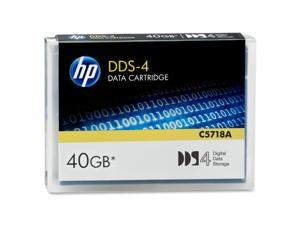 HP C5718A 20/40GB DDS-4 Tape Media 1 Pack