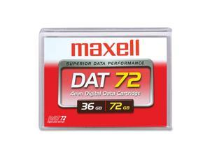 maxell 200200 36/72GB DAT 72 Tape Media 1 Pack