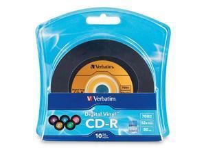 Verbatim 700MB 52X CD-R 10 Packs Disc Model 96858
