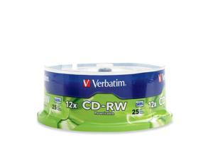 Verbatim 700MB 12X CD-RW 25 Packs Media Model 95155