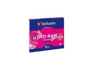 Verbatim 4.7GB 3X DVD-RW 3 Packs Disc