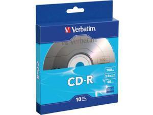 Verbatim CD-R 80MIN 700MB 10pk Bulk Box