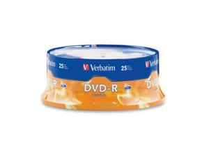 Verbatim 4.7GB 16X DVD-R 25 Packs Disc Model 95058