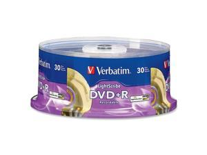 Verbatim 4.7GB 16X DVD+R LightScribe 30 Packs Disc Model 95091