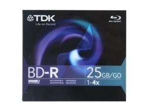 TDK 25GB 4X BD-R Single Disc Model 49019
