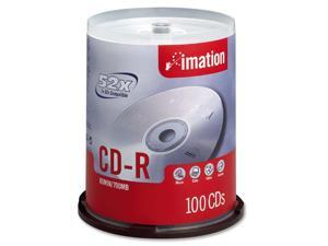 imation 700MB 52X CD-R 100 Packs Disc Model 17262