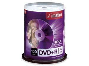imation 4.7GB 16X DVD+R 100 Packs Disc Model 18060