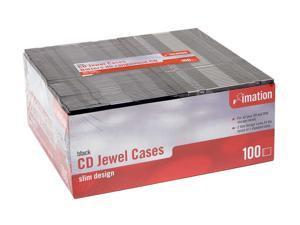 imation 41429 Black Storage CD jewel cases