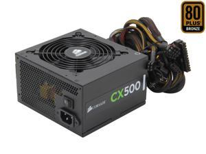 CORSAIR CX series CX500 500W 80 PLUS BRONZE Active PFC ATX12V & EPS12V Power Supply