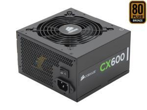 CORSAIR CX Series CX600 600W 80 PLUS BRONZE Active PFC ATX12V & EPS12V Power Supply