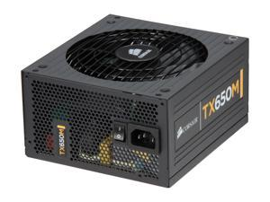 CORSAIR Enthusiast Series TX650M 650W High Performance Power Supply New 4th Gen CPU Certified Haswell Ready