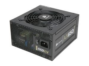 CORSAIR Professional Series Gold AX650 650W High Performance Power Supply