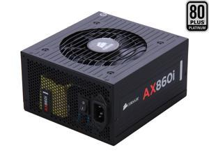 CORSAIR AXi Series AX860i Digital 860W 80 PLUS PLATINUM Haswell Ready Full Modular ATX12V & EPS12V SLI and Crossfire Ready Power Supply with C-Link Monitoring and Control