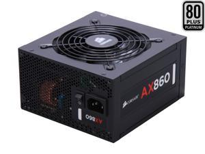 CORSAIR AX Series AX860 860W 80 PLUS PLATINUM Haswell Ready Full Modular ATX12V & EPS12V SLI and Crossfire Ready Power Supply