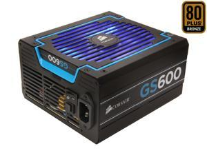 CORSAIR GS series GS600 600W Power Supply New 4th Gen CPU Certified Haswell Ready