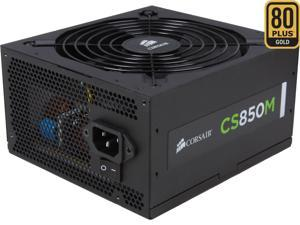 CORSAIR CS-M Series CS850M 850W 80 PLUS GOLD Active PFC Haswell Ready ATX12V & EPS12V Modular Power Supply