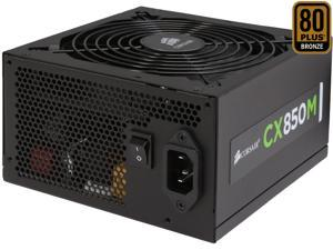 CORSAIR CX-M series CX850M 850W 80 PLUS BRONZE Haswell Ready ATX12V & EPS12V Modular Power Supply