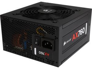 Corsair Certified AX Series AX760 760W SLI Ready CrossFire Ready 80 Plus Platinum Power Supply