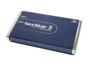 "Vantec NexStar 3 2.5"" IDE to USB 2.0 External Hard Drive Enclosure (Midnight Blue) - Model NST-260U2-BL"