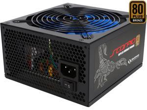 RAIDMAX Scorpio series RX-635AP-S 635W ATX12V / EPS12V SLI Ready CrossFire Ready 80 PLUS BRONZE Certified Modular Power Supply