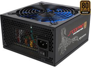 RAIDMAX Scorpio series RX-535AP-S 535W ATX12V / EPS12V SLI Ready CrossFire Ready 80 PLUS BRONZE Certified Modular Power Supply