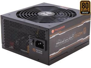 Thermaltake SMART Series SP-750PCBUS 750W ATX 12V v2.4 / EPS v2.92 80 PLUS BRONZE Certified Active PFC Power Supply