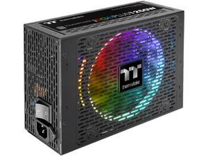 Thermaltake Toughpower iRGB Plus 1250W Digital SLI/CrossFire Ready Continuous Power ATX12V v2.31 / SSI EPS v2.92 80 PLUS TITANIUM Certified 10 Year Warranty Full Modular Active PFC Power Supply Haswel